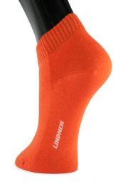 LINDNER Shorties - Sneaker Golf Socks - orange